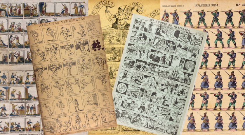 The collection of rhymed comics of the records Pere Grañén i Raso is already consultable in line
